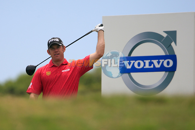 Lee Westwood (ENG) waits to tee off on the 5th tee during the afternoon session on Day 2 of the Volvo World Match Play Championship in Finca Cortesin, Casares, Spain, 20th May 2011. (Photo Eoin Clarke/Golffile 2011)