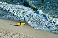 Surfing, Long Nook Beach, Cape Cod National seashore, Truro, Cape Cod, MA, Massachusetts, USA