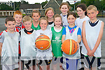 The Team Kerry Basketball Camp was a huge success in Killarney last week. .Front L-R Conor Byrne, Owen McNulty, Niamh Stack, Edel Brosnan, Anna Lyons and Sean Fardon. .Back L-R Gary O'Sullivan, Caemnat Moore, Anna Fitzgerald, Shannon Ahern and Nicole McHugh.