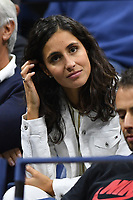 FLUSHING NY- AUGUST 31: Xisca Perello seen watching Rafael Nadal Vs Taro Daniel on Arthur Ashe Stadium during the US Open at the USTA Billie Jean King National Tennis Center on August 31, 2017 in Flushing Queens. Credit: mpi04/MediaPunch