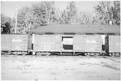 Side view of box car #3486.<br /> D&amp;RGW