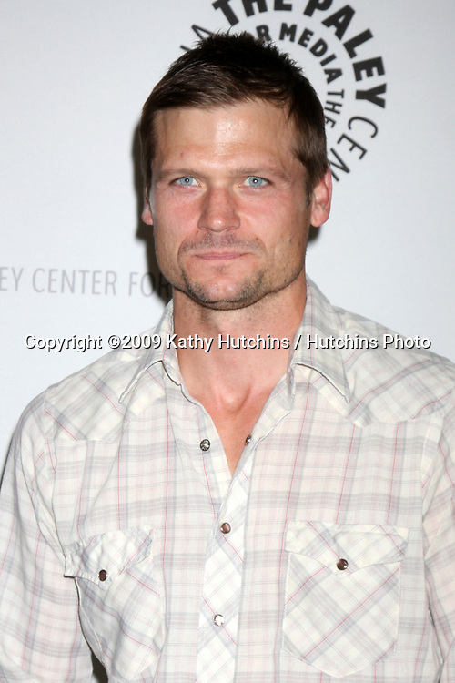 "Bailey Chase  arriving at the ""Saving Grace"" Event at the Paley Center for Media in Beverly Hills , CA on June 13, 2009.  .©2009 Kathy Hutchins / Hutchins Photo"