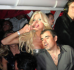 **EXCLUSIVE**.Victoria Silvstedt and boyfriend Maurice Dabbah..New Year's Eve Party with Special Performance by Beyonce Knowles..Nikki Beach Restaurant..St Barth, Caribbean..Thursday, December 31, 2009..Photo By Celebrityvibe.com.To license this image please call (212) 410 5354; or Email: celebrityvibe@gmail.com ; .website: www.celebrityvibe.com.