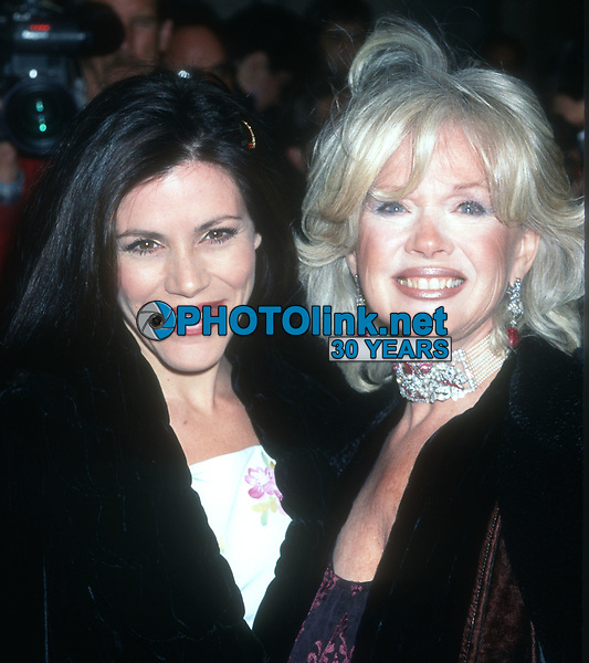 Tricia Fisher and mom Connie Stevens<br /> 1982<br /> Photo By John Barrett/CelebrityArchaeology.com