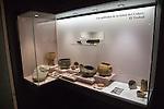 Finds Edad del Cobre chalcolithic site, archaeology museum, Jerez de la Frontera, Cadiz Province, Spain