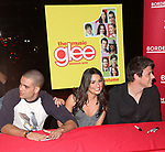 Mark Salling, Lea Michele & Cory Monteith<br /> celebrating the release of the smash hit CD, glee - the music season one with an appearance at Borders Columbus Circle in New York City. November 3, 2009