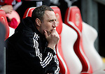 Andy Crosby assistant manager of Sheffield Utd - English League One - Fleetwood Town vs Sheffield Utd - Highbury Stadium - Fleetwood - England - 5rd March 2016 - Picture Simon Bellis/Sportimage