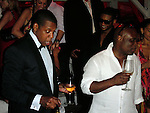 **EXCLUSIVE**.Jay Z, Usher and LA Reid..New Year's Eve Party with Special Performance by Beyonce Knowles..Nikki Beach Restaurant..St Barth, Caribbean..Thursday, December 31, 2009..Photo By Celebrityvibe.com.To license this image please call (212) 410 5354; or Email: celebrityvibe@gmail.com ; .website: www.celebrityvibe.com.