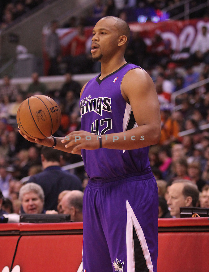 Sacramento Kings Chuck Hayes (42)