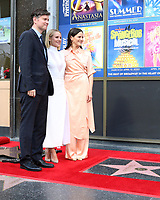 LOS ANGELES - OCT 19:  Michael Schur, Kristen Bell, Jackie Tohn at the Idina Menzel and Kristen Bell Star Ceremony on the Hollywood Walk of Fame on October 19, 2019 in Los Angeles, CA