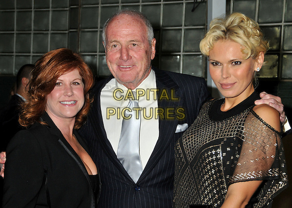 "JERRY WEINTRAUB (center) & GUESTS.""Vanity Fair Portraits: Photographs 1913?2008"" Exhibition at the LA County Museum of Art, Los Angeles, California, USA..October 21st, 2008.half length black suit jacket sheer .CAP/ADM/BP.©Byron Purvis/AdMedia/Capital Pictures."