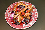 Very Berry Brioche French Toast Breakfast, Norma's Restaurant at Le Parker Meridien Hotel, New York, New York