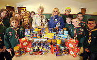 2017 03 15 Aldi presentation to scout group, Lamphey, Wales, UK