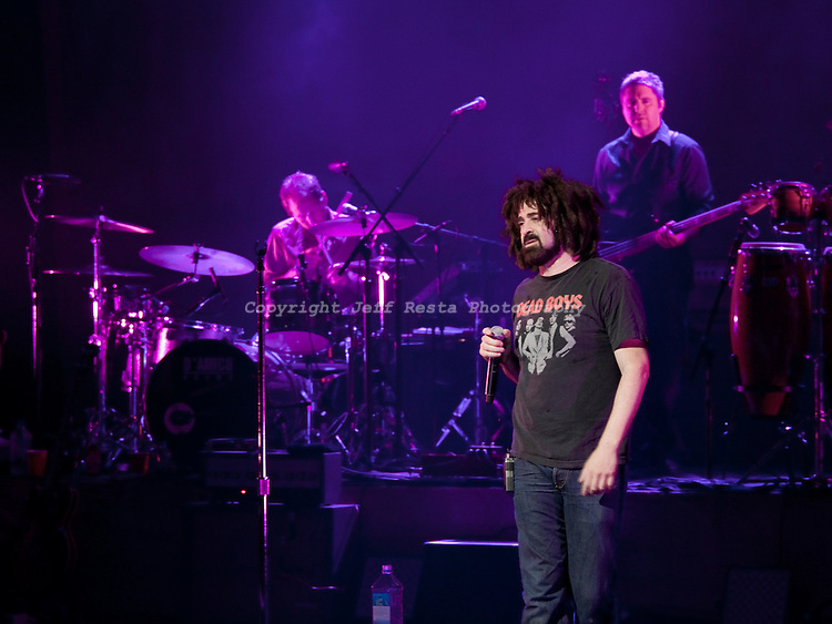 Counting Crows with Augustana live concert at Nokia Theatre on August 4, 2009 in Grand Prairie, TX.