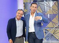 """Alessandro greco durante il photocall di presentazione del nuovo quiz rai """" Zero e Lode"""" con l'autore Alessandro Santucci"""