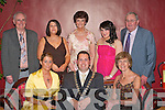 Killarney Mayor Niall O'Callaghan with his family at the Mayor's Ball in the Malton Hotel Killarney on Saturday night front row l-r: Kathy O'Callaghan, Niall O'Callaghan, Eileen O'Callaghan. Back row: Declan Curran, Joan Curran, Noreen O'Callaghan, Sinead O'Callaghan and Dermot O'Callaghan   Copyright Kerry's Eye 2008