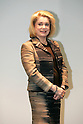 "Feb. 28, 2010 - Tokyo, Japan - French actress Catherine Deneuve attends the ""Femme@Tokyo"" Press Conference at Space Nio in Nikkei building on February 28, 2010. 'Femmes@Tokyo' is organized on the occasion of the International Women's Day (IWD) by the French Ambassy in Tokyo and the daily newspaper Nikkei. The event features a variety of programs, including exhibitions, concerts and film projections from February 28th to April 3th. Laure Adler, Marie Darrieussecq, Christine Angot, Fatou Diome and Yoko Ogawa will attend the event. (Photo Laurent Benchana/Nippon News)"
