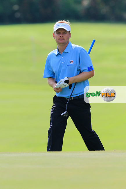 Soren Kjeldsen (DEN) European Team during Pro-Am Day of the 2016 Eurasia Cup held at the Glenmarie Golf &amp; Country Club, Kuala Lumpur, Malaysia. 14th January 2016.<br /> Picture: Eoin Clarke | Golffile<br /> <br /> <br /> <br /> All photos usage must carry mandatory copyright credit (&copy; Golffile | Eoin Clarke)