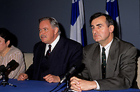 Lucien Bouchard<br />  during the 1995 Referendum