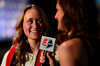 Philadelphia, PA - Thursday January 18, 2018: Mallory Eubanks during the 2018 NWSL College Draft at the Pennsylvania Convention Center.