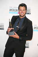 LOS ANGELES, CA - NOVEMBER 18: Luke Bryan in the press room at the 40th American Music Awards held at Nokia Theatre L.A. Live on November 18, 2012 in Los Angeles, California. Credit: mpi20/MediaPunch Inc. /NORTEPHOTO