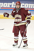 Mike Brennan - The Boston College Eagles defeated the Boston University Terriers 5-0 on Saturday, March 25, 2006, in the Northeast Regional Final at the DCU Center in Worcester, MA.