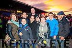 Pictured at Legion v South Kerry final at Fitzgerald Stadium, Killarney on Sunday were l-r: Debra O'Sullivan, Cian McNamara, Cathal O'Sullivan, Paul Doyle with Siobhan, Ann, Helen, Aoife, David and Jerry Jackie O'Sullivan.