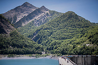 across the water dam<br /> <br /> stage 7: Aoste > Alpe d'Huez (168km)<br /> 69th Critérium du Dauphiné 2017