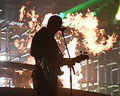 SUNRISE FL - NOVEMBER 04: Josh Dun and Tyler Joseph of Twenty One Pilots perform at The BB&T Center on November 4, 2018 in Sunrise, Florida. Photo by Larry Marano © 2018