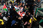 Mourners carry the body of Mohammad Zeidan, 16, a PMourners carry the body of Mohammad Zeidan, 16, a Palestinian youth who was killed by Israeli security forces on Nov. 25 after allegedly attempting to carry out a stabbing attack during his funeral in the West Bank village of Bir Nabala - between Jerusalem and Ramallah, on February 2, 2017 after his body was returned by Israeli authorities late Wednesday night after being held by Israeli authorities for over two months. Photo by Shadi Hatem