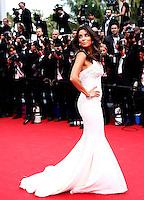 Eva Longoria attends the 'Saint Laurent' Premiere - 67th Annual Cannes Film Festival  - France