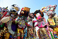 BARRANQUILLA-COLOMBIA- 07-02-2016: La Gran Parada de Tradición del Carnaval de Barranquilla 2016 invita a todos los colombianos a contagiarse del Jolgorio general encabezado por su reina Marcela Garcia Caballero. El Carnaval es una de las festividades más importantes del país y se lleva a cabo hasta el 9 de febrero de 2016. / The Gran Parada de Tradicion of Carnaval de Barranquilla 2016 invites all Colombians to catch the general reverly led by their Queen Marcela Garcia Caballero. The Carnival is one of the most important festivals of the country and take place until February 9, 2016.  Photo: VizzorImage / Alfonso Cervantes / STR