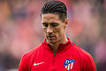 Fernando Torres of Atletico de Madrid looks on prior to the La Liga 2017-18 match between Atletico de Madrid and Girona FC at Wanda Metropolitano on 20 January 2018 in Madrid, Spain. Photo by Diego Gonzalez / Power Sport Images