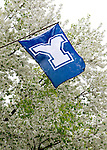 1004-61 158<br /> <br /> April GCS 2010<br /> <br /> Y Flag<br /> <br /> Photo by Mark Philbrick/BYU<br /> <br /> &copy; BYU PHOTO 2010<br /> All Rights Reserved<br /> photo@byu.edu  (801)422-7322