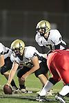 Lawndale, CA 10/01/10 - Mickey O'crowley (Peninsula #53) and Brock Dale (Peninsula #7) in action during the Peninsula-Lawndale Varsity football game.