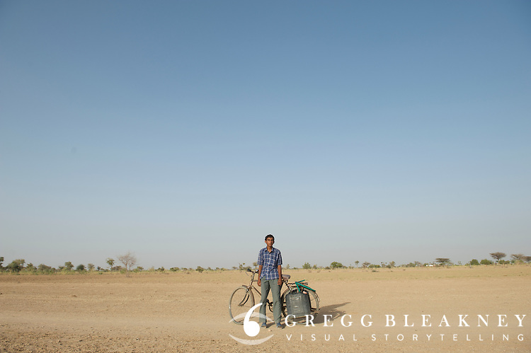 Water hauler - Thar Desert, India