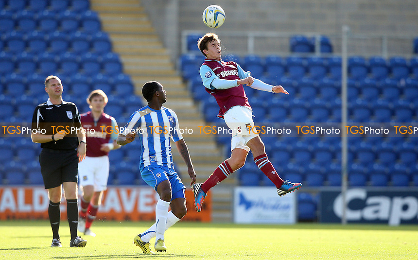 Jack Powell of West Ham - Colchester United Development Squad vs West Ham United Development Squad, Friendly at The Weston Homes Community Stadium - 16/10/12 - MANDATORY CREDIT: Rob Newell/TGSPHOTO - Self billing applies where appropriate - 0845 094 6026 - contact@tgsphoto.co.uk - NO UNPAID USE.