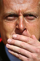 Garry Monk manager of Swansea   during the Barclays Premier League match Watford and Swansea   played at Vicarage Road Stadium , Watford