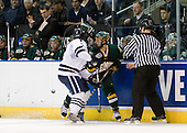 Mike Matczak (Yale - 7), Wahsontiio Stacey (Vermont - 9) - The University of Vermont Catamounts defeated the Yale University Bulldogs 4-1 in their NCAA East Regional Semi-Final match on Friday, March 27, 2009, at the Bridgeport Arena at Harbor Yard in Bridgeport, Connecticut.