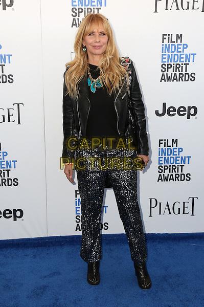 SANTA MONICA, CA - FEBRUARY 25: Rosanna Arquette attends the 2017 Film Independent Spirit Awards at Santa Monica Pier on February 25, 2017 in Santa Monica, California.   <br /> CAP/MPI/PAR<br /> &copy;PAR/MPI/Capital Pictures