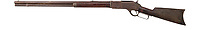 BNPS.co.uk (01202 558833)<br /> Pic: HeritageAuctions/BNPS<br /> <br /> Calamity Jane's 'Winchester Rifle'<br /> <br /> A trio of guns that were owned by two of the Wild West's best known personalities have sold at auction for a whopping £305,000.<br /> <br /> The weapons, which were sold as individual lots, belonged to Calamity Jane and Wyatt Earp.<br /> <br /> Calamity Jane, real name Martha Jane Canary, is best known for appearing in Buffalo Bill's Wild West show and being an acquaintance of Wild Bill Hickok.<br /> <br /> Wyatt Earp meanwhile was an Old West lawman and professional gambler who took part in the infamous shootout at the O.K. Corral in 1881.
