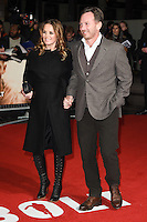 LONDON, UK. November 28, 2016: Geri Halliwell &amp; Christian Horner at the &quot;I Am Bolt&quot; World Premiere at the Odeon Leicester Square, London.<br /> Picture: Steve Vas/Featureflash/SilverHub 0208 004 5359/ 07711 972644 Editors@silverhubmedia.com
