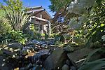 Seattle, House, landscaped garden, native species, View Ridge, North Beach, neighborhood, Puget Sound, Pacific Northwest, Washington State,