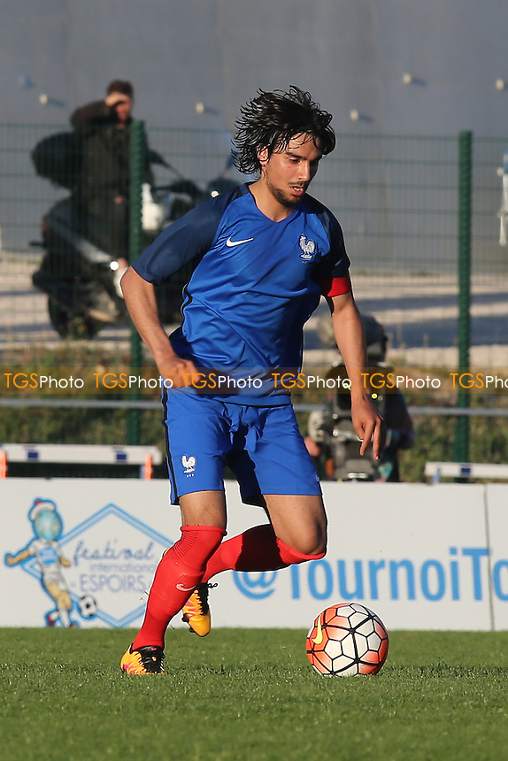 Samed Kilic of France during Bulgaria Under-20 vs France Under-20, 2016 Toulon Tournament Football at Stade de Lattre on 20th May 2016