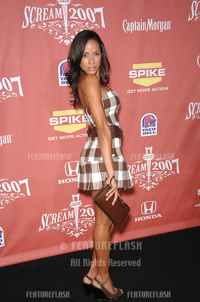 "Dania Ramirez at Spike TV's ""Scream 2007"" Awards honoring the best in horror, sci-fi, fantasy & comic genres, at the Greak Theatre, Hollywood..October 20, 2007  Los Angeles, CA.Picture: Paul Smith / Featureflash"