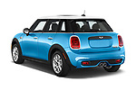 Car pictures of rear three quarter view of 2017 MINI Cooper S 5 Door Hatchback Angular Rear
