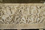 Israel, Coastal Plain, a Roman Sarcophagus from the 3rd century in Ashkelon