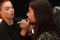 Concept Korea<br /> backstage at fashion show at New York Fashion Week<br /> Spring Summer 2018<br /> in New York, USA September 2017.<br /> CAP/GOL<br /> &copy;GOL/Capital Pictures