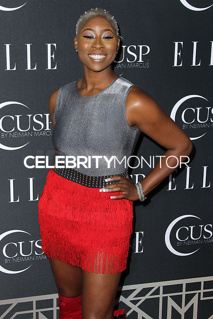HOLLYWOOD, LOS ANGELES, CA, USA - APRIL 22: Lundon Knighten at the 5th Annual ELLE Women In Music Concert Celebration presented by CUSP by Neiman Marcus held at Avalon on April 22, 2014 in Hollywood, Los Angeles, California, United States. (Photo by Xavier Collin/Celebrity Monitor)