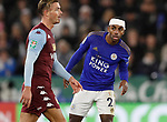 Ricardo Pereira of Leicester City with his bandaged head during the Carabao Cup match at the King Power Stadium, Leicester. Picture date: 8th January 2020. Picture credit should read: Darren Staples/Sportimage